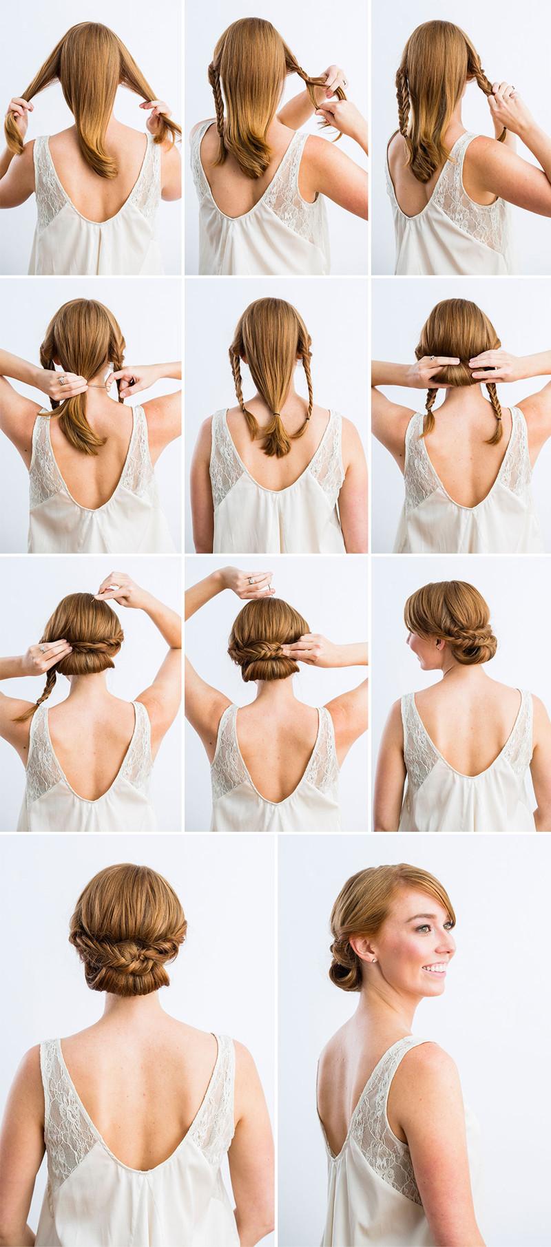 Diy Wedding Hairstyles  10 Best DIY Wedding Hairstyles with Tutorials