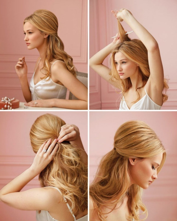 Best ideas about DIY Wedding Hairstyles For Long Hair . Save or Pin 101 Easy DIY Hairstyles for Medium and Long Hair to snatch Now.