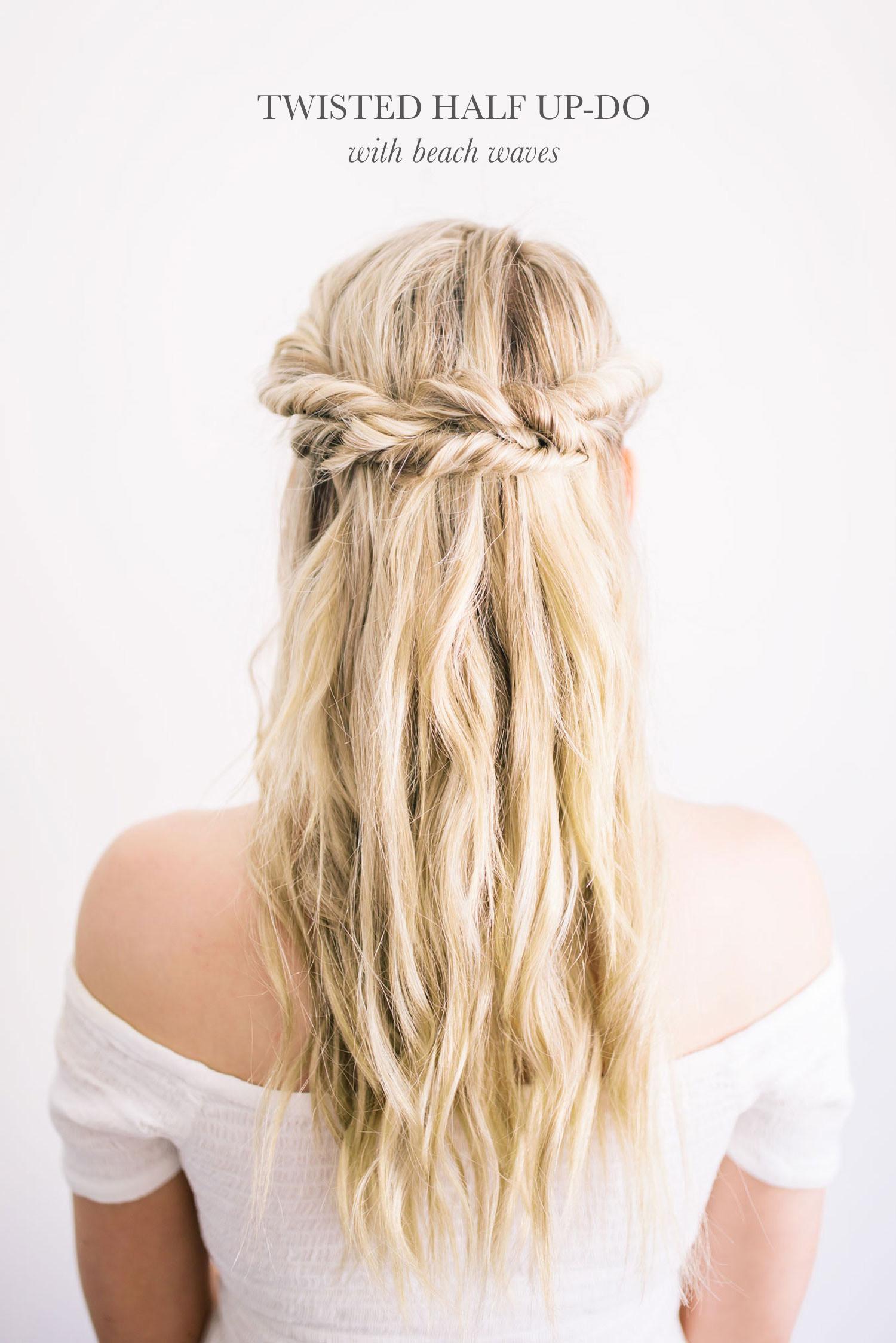 Diy Wedding Hairstyles  DIY Modern Boho Wedding Hairstyles