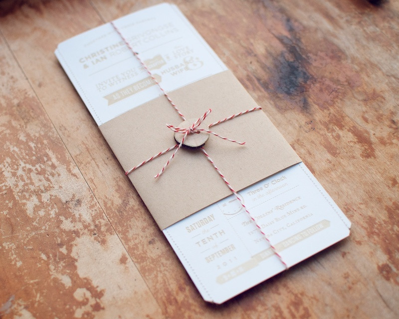 Best ideas about DIY Wedding Invitation . Save or Pin Christine Ian s DIY Lasercut Woodland Wedding Invitations Now.