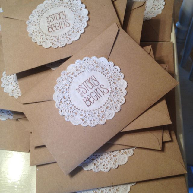 Best ideas about DIY Wedding Invitation . Save or Pin Diy Wedding Invitation Envelopes Now.
