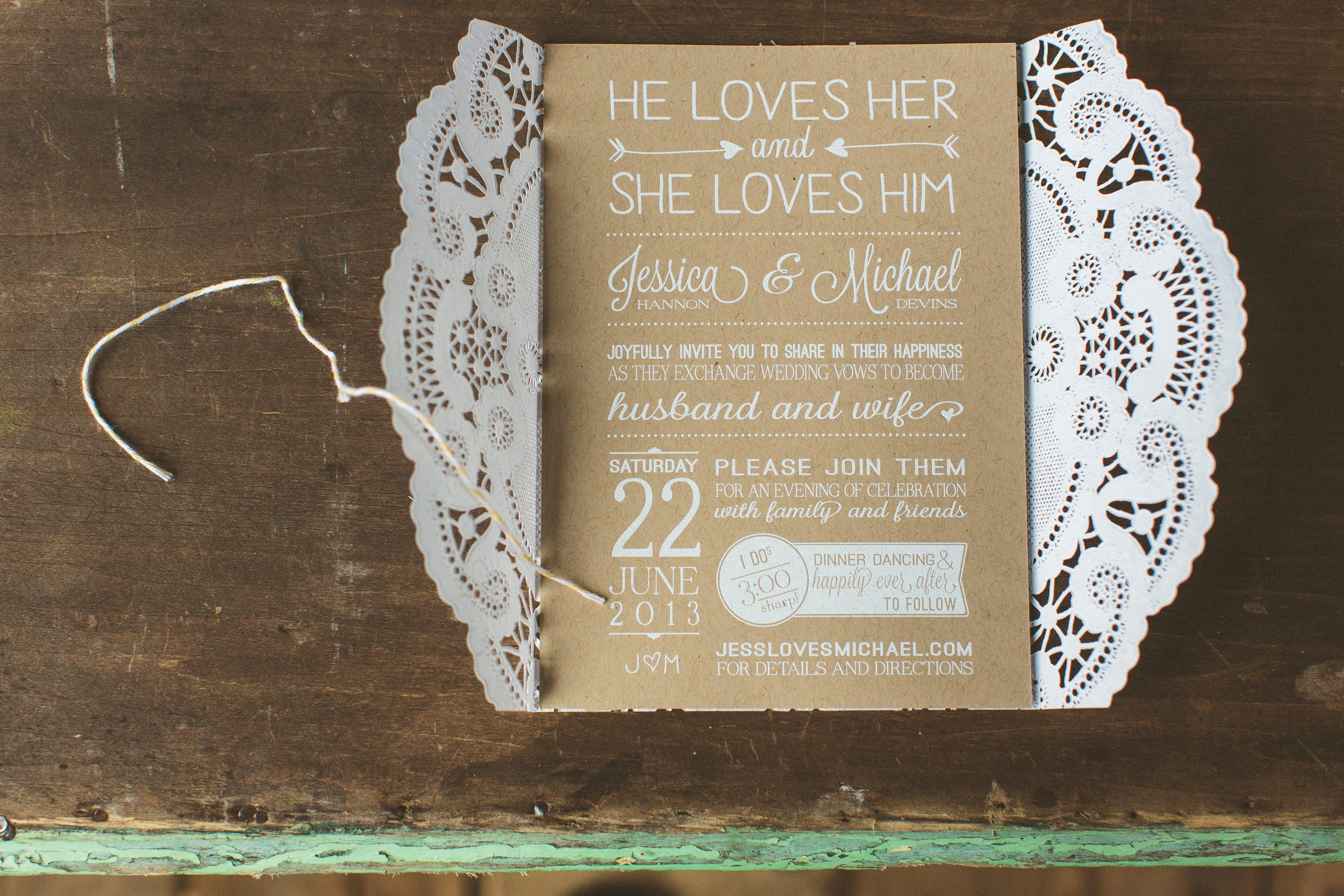 Best ideas about DIY Wedding Invites . Save or Pin Wedding Invitation Templates diy rustic wedding Now.
