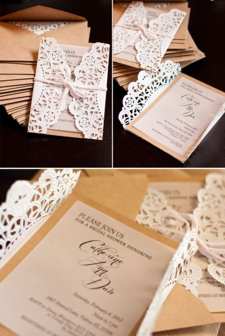 Best ideas about DIY Wedding Invites . Save or Pin DIY Wedding Invitation Inspirations Now.