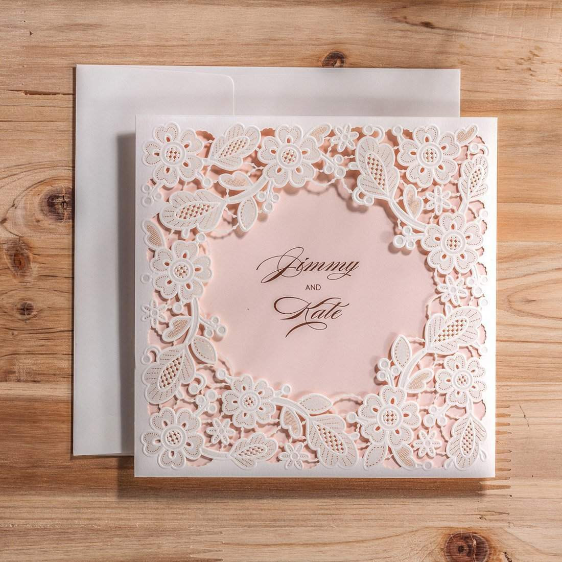 Best ideas about DIY Wedding Invites . Save or Pin Top 10 Best Cheap DIY Wedding Invitations Now.