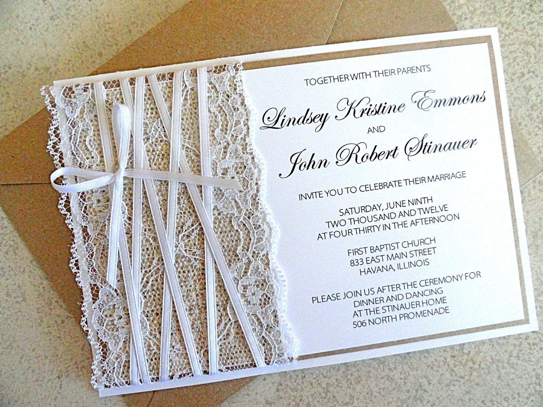 Best ideas about DIY Wedding Invites . Save or Pin Diy wedding shower invitations diy bridal shower Now.