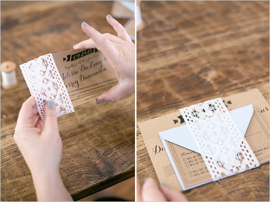 Best ideas about DIY Wedding Invites . Save or Pin DIY Wedding Invitations Stunning fun ideas Now.