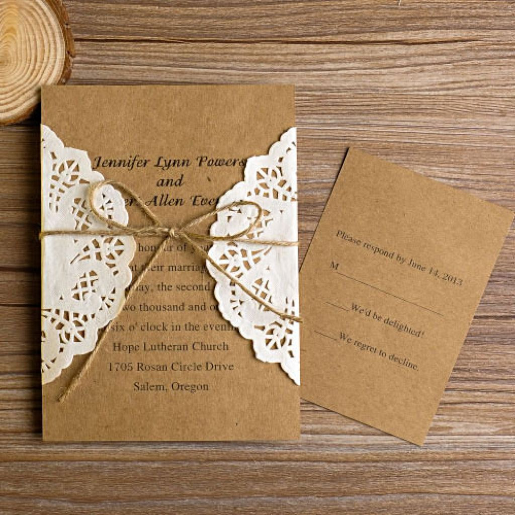 Best ideas about DIY Wedding Invites . Save or Pin Do It Yourself Wedding Invitations Templates Now.