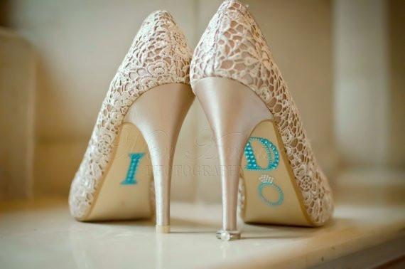 DIY Wedding Shoe  diy wedding shoes i do shoe stickers by monamour boutique