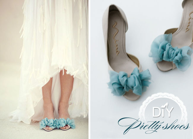 DIY Wedding Shoe  DIY Pretty Shoes Green Wedding Shoes
