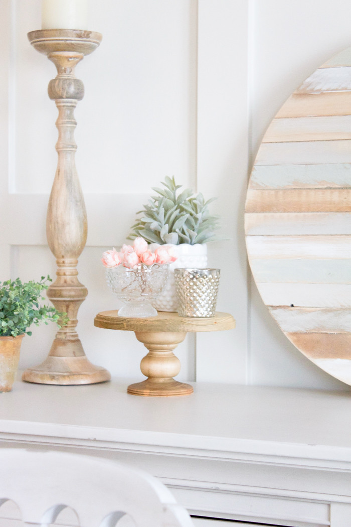 Best ideas about DIY Wood Cake Stand . Save or Pin Farmhouse Home How to Make your own Simple DIY Wood Cake Now.