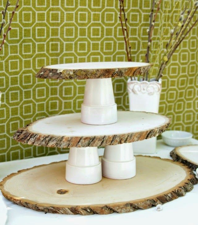 Best ideas about DIY Wood Cake Stand . Save or Pin 5 DIY Cake Stands You Can Do With Wood Logs And Slices Now.