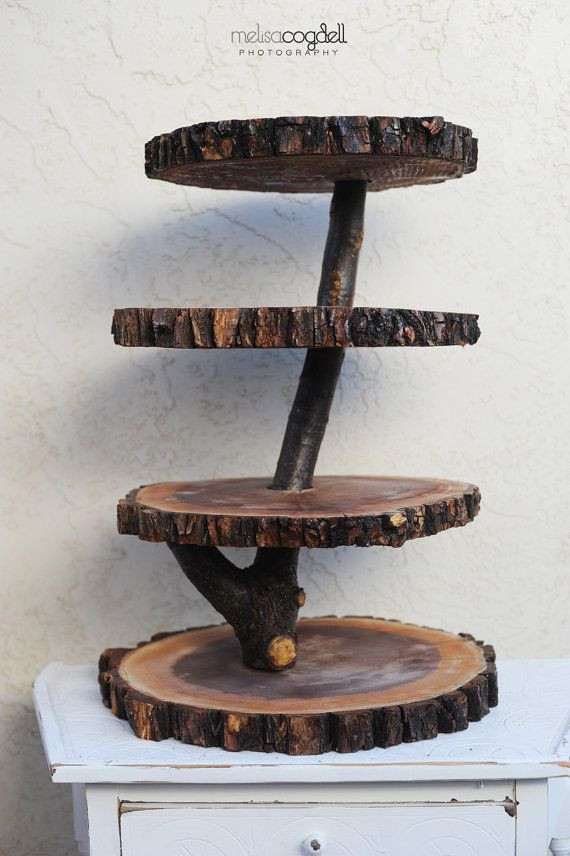 Best ideas about DIY Wood Cake Stand . Save or Pin Wood Cupcake Stand Diy 10 Pack Natural Camphor Wood Now.