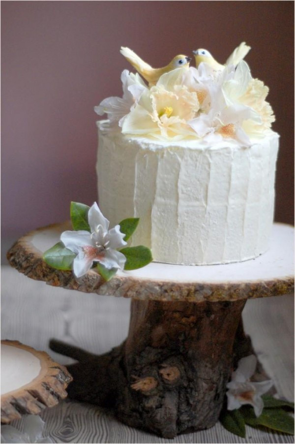 Best ideas about DIY Wood Cake Stand . Save or Pin DIY Rustic Wedding Cake Stand ce Wed Now.