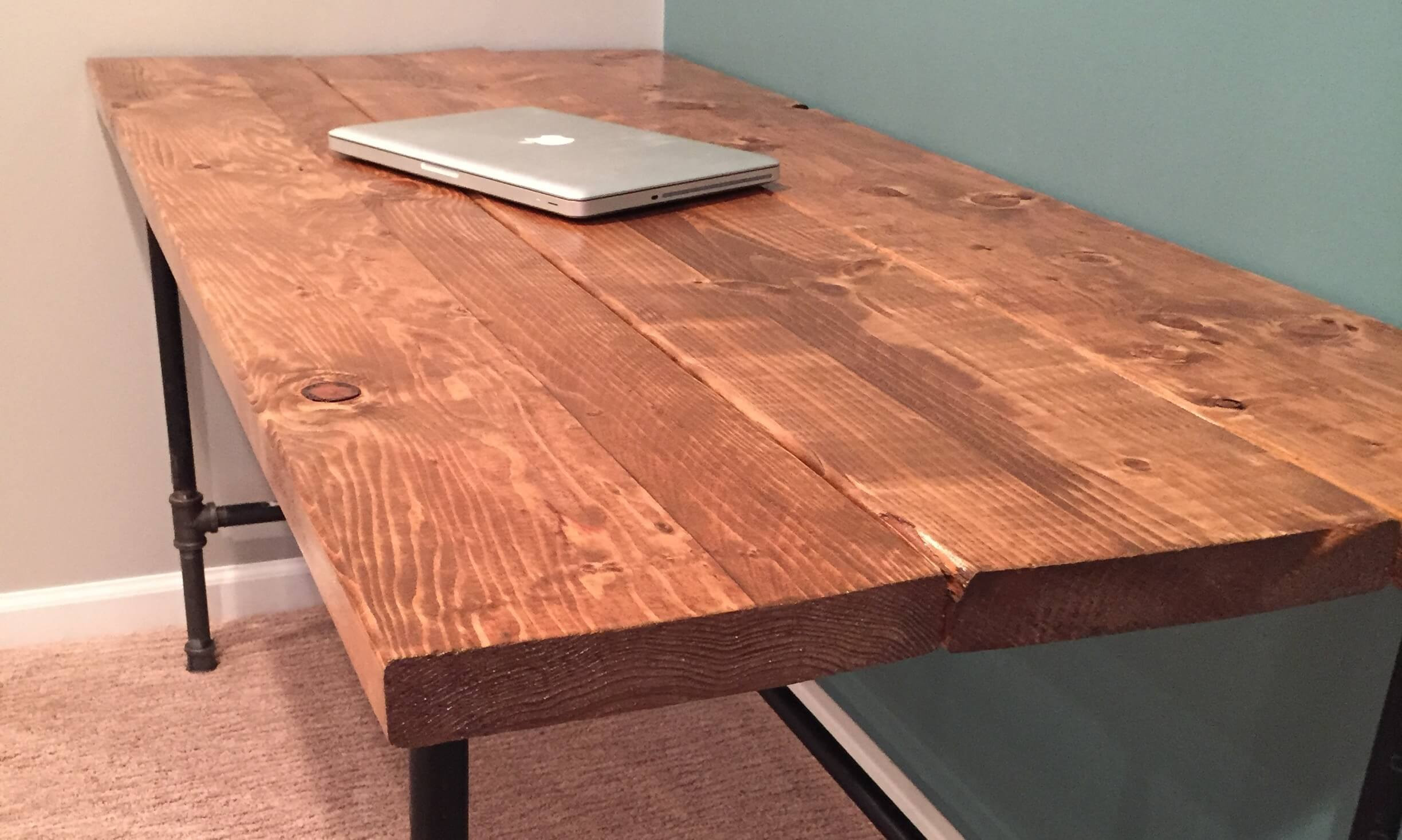 Best ideas about DIY Wood Desks . Save or Pin DIY How To Build A Desk Now.