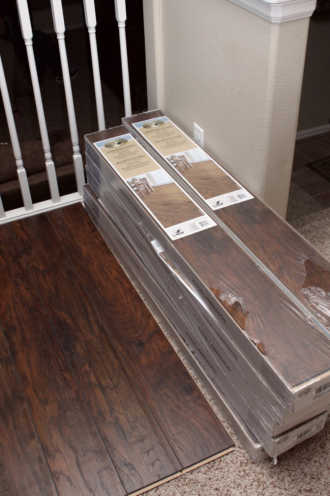Best ideas about DIY Wood Floor . Save or Pin Our Modern Homestead DIY Laminate wood flooring project Now.