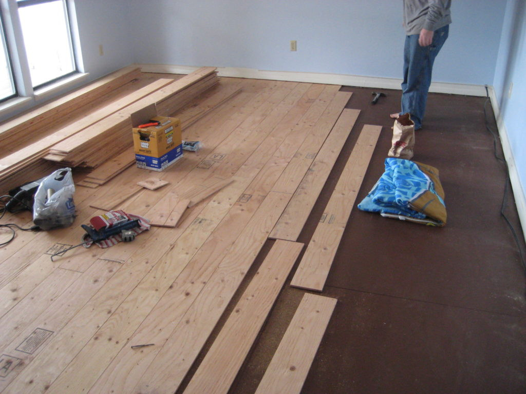 Best ideas about DIY Wood Floor . Save or Pin DIY Plywood Wood Floors Full Instructions Save A Ton Now.