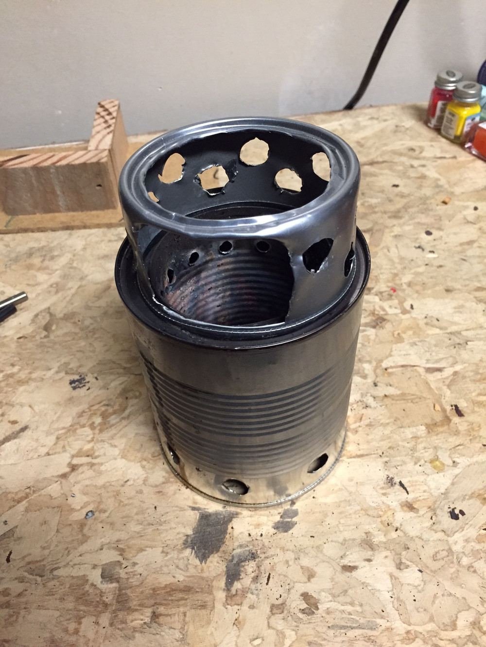 Best ideas about DIY Wood Gasification Stove . Save or Pin DIY Wood Gasifier Backpacking Stove — Colter Co Now.