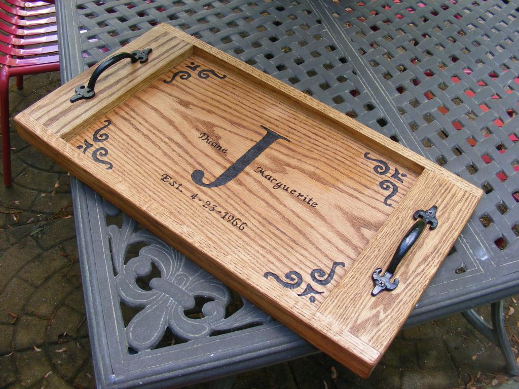 DIY Wood Serving Tray  DIY Lowe s Serving Tray