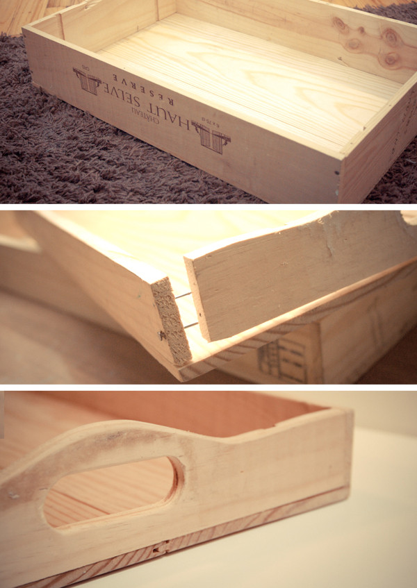 DIY Wood Serving Tray  Favorite Handmade Tray Projects 20 Easy DIY Serving Trays