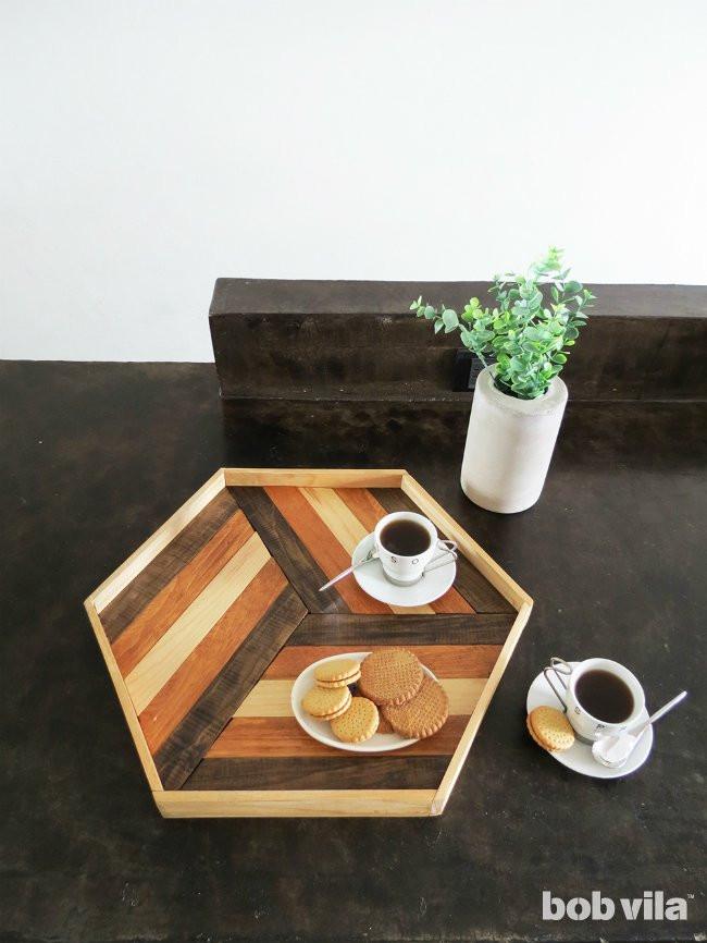 DIY Wood Serving Tray  How to Make a DIY Serving Tray Bob Vila