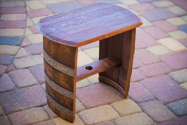DIY Wooden Barrel  9 DIY Wooden Barrel Projects