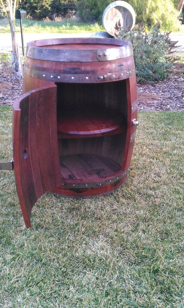 DIY Wooden Barrel  DIY Wine Barrels Ideas