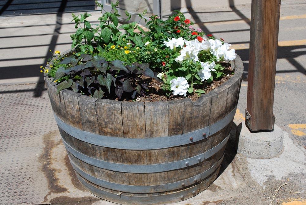 DIY Wooden Barrel  Wooden Barrel Planter Interesting Design and Ornaments