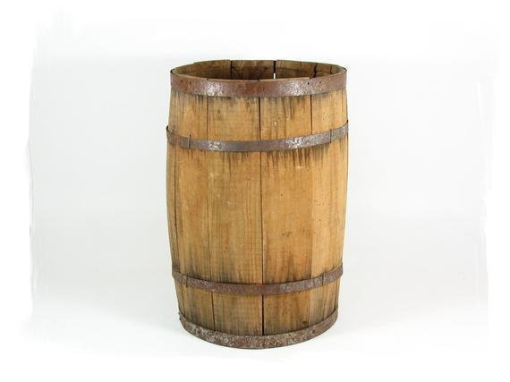 DIY Wooden Barrel  Vintage Wood Barrel Wooden Nail Keg DIY Table by