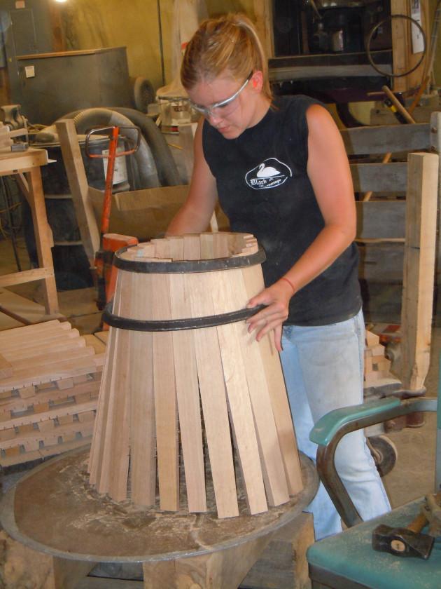 DIY Wooden Barrel  Making wooden barrels Plans DIY How to Make