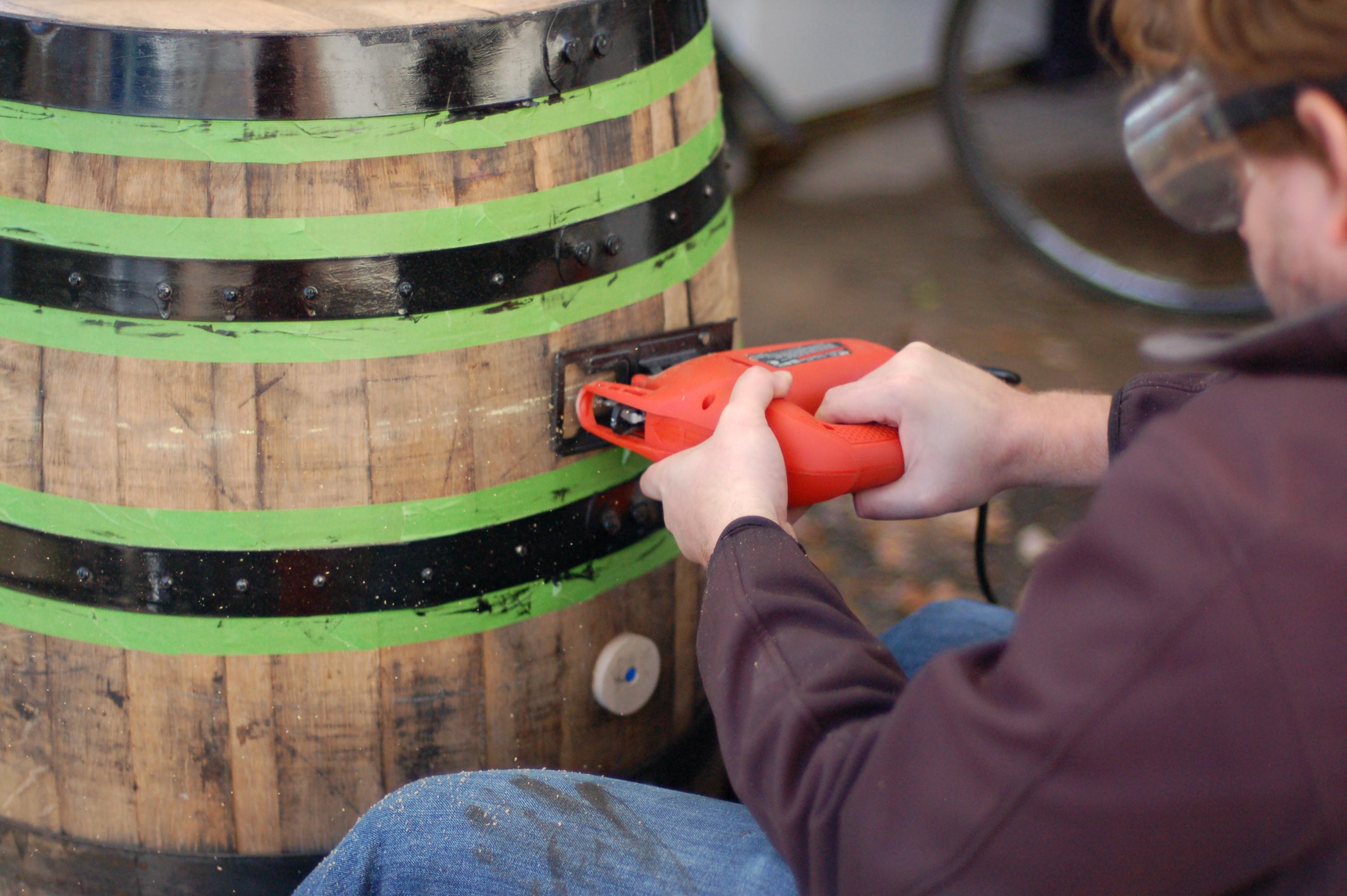 DIY Wooden Barrel  DIY Building a Bourbon Barrel Meat Smoker – A Ph D in