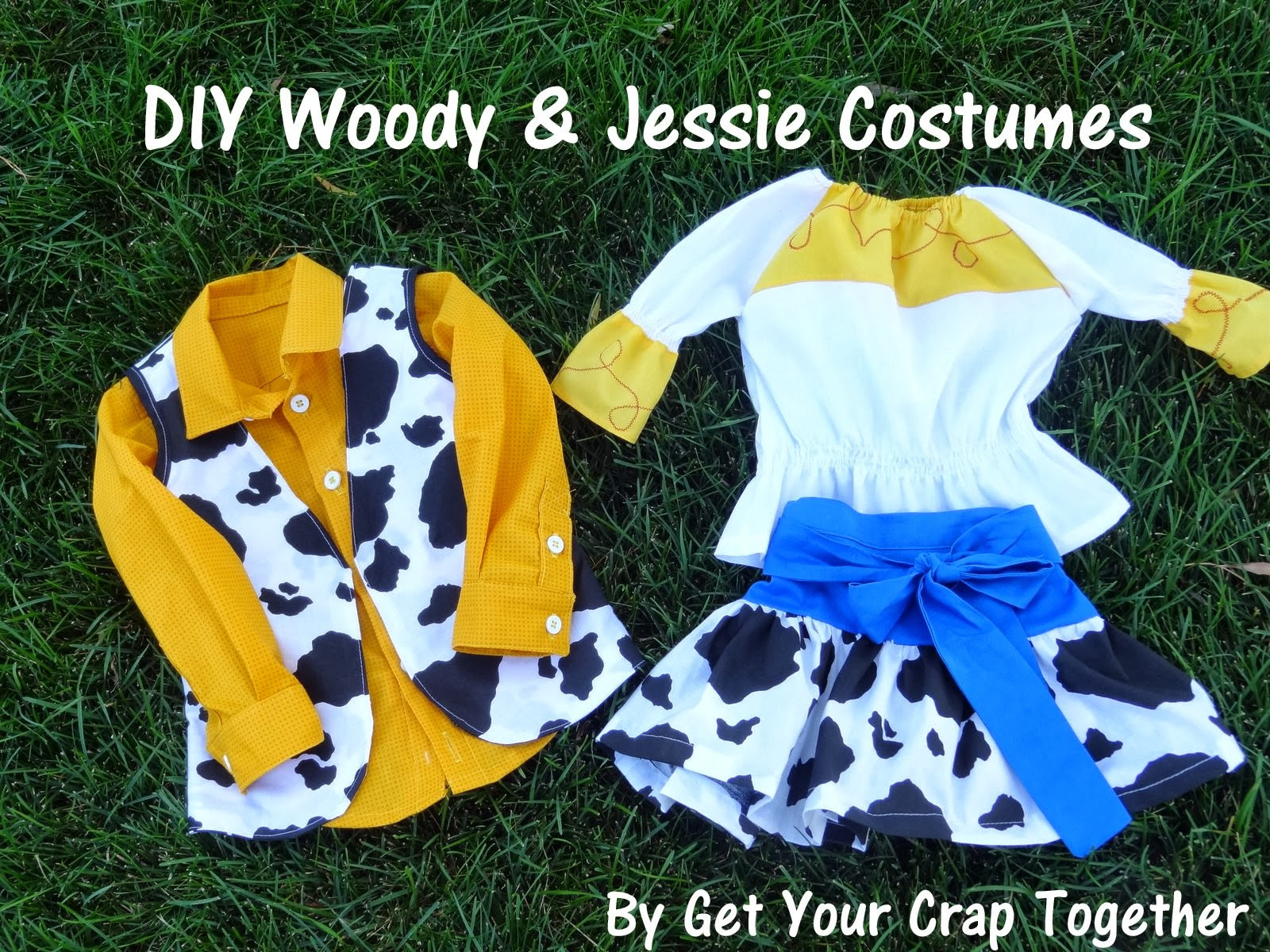 Best ideas about DIY Woody Costume . Save or Pin DIY Woody & Jessie Costumes 31 Day of Halloween GYCT Now.