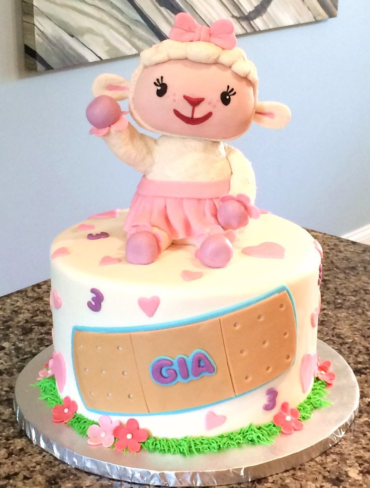 Doc Mcstuffins Birthday Cake  1000 images about doc mcstuffins birthday cake ideas on