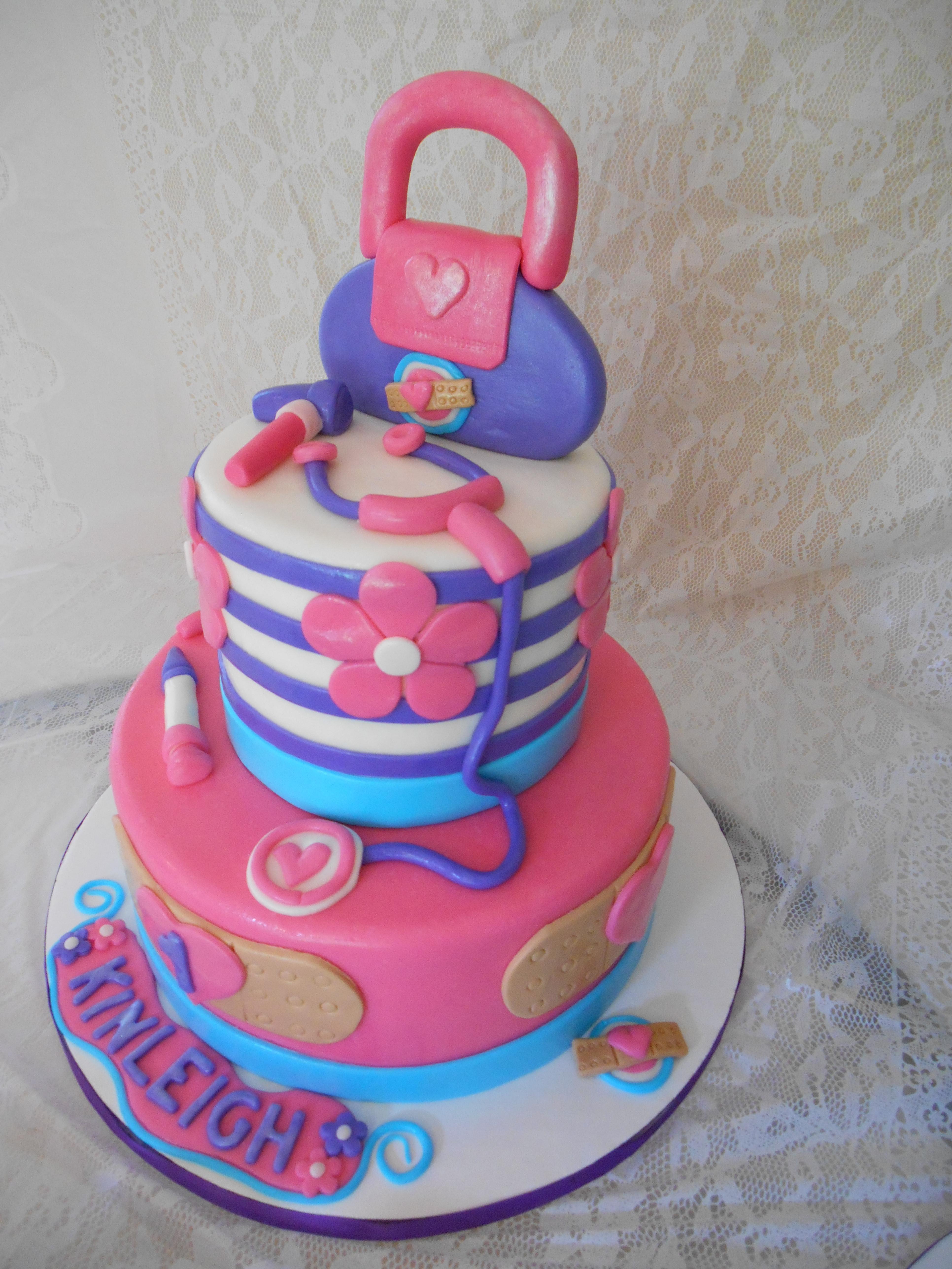 Doc Mcstuffins Birthday Cake  Doc Mcstuffins Cake CakeCentral