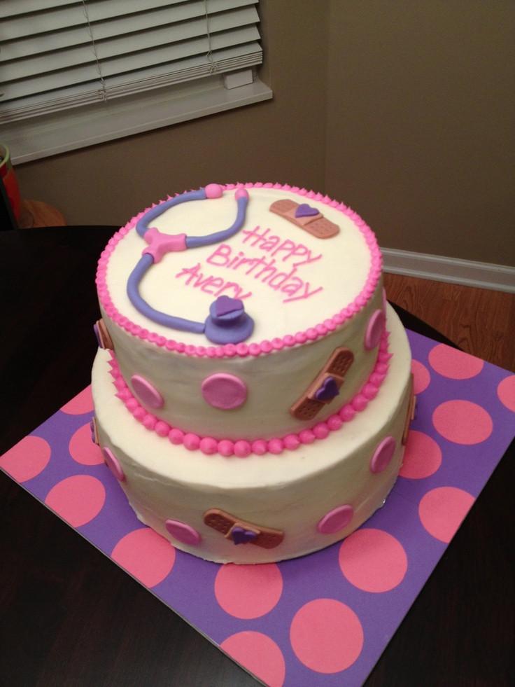 Doc Mcstuffins Birthday Cake  Doc McStuffins Lambie Cake