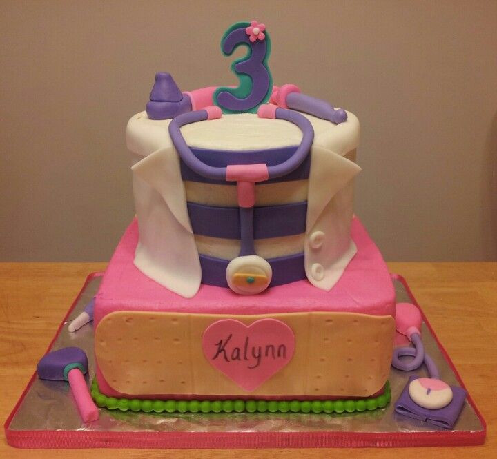 Doc Mcstuffins Birthday Cake  Doc mcstuffins birthday cake My Creations