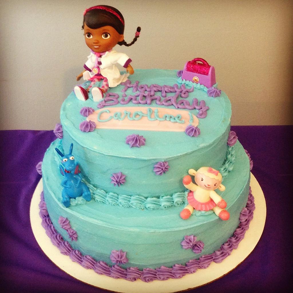 Doc Mcstuffins Birthday Cake  Doc McStuffins Birthday Cake Krista Becker