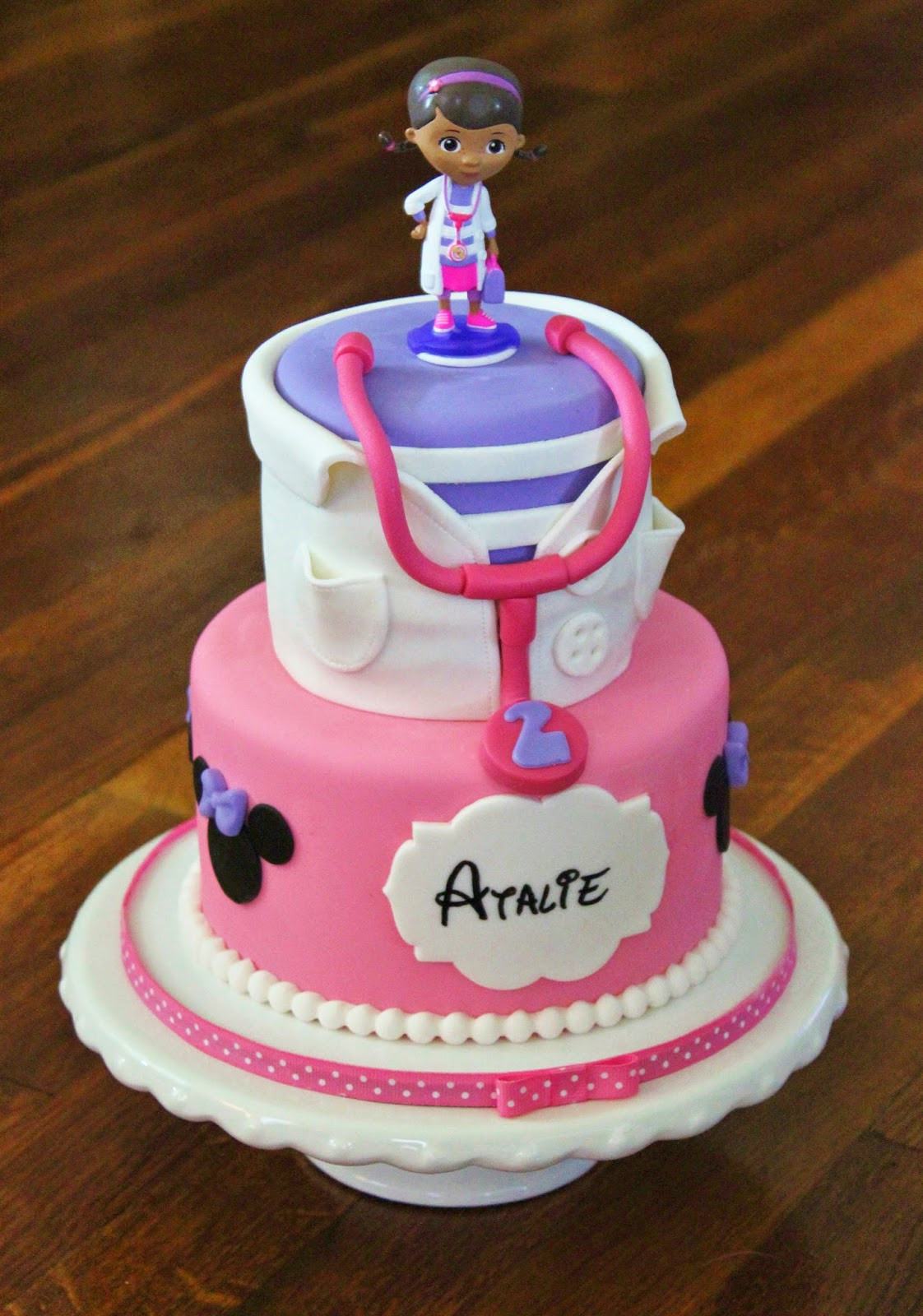 Doc Mcstuffins Birthday Cake  Cakes by Becky Doc McStuffins & Minnie Mouse Birthday