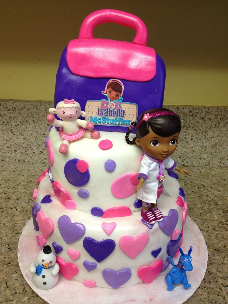 Doc Mcstuffins Birthday Cake  Doc McSTuffins cakes