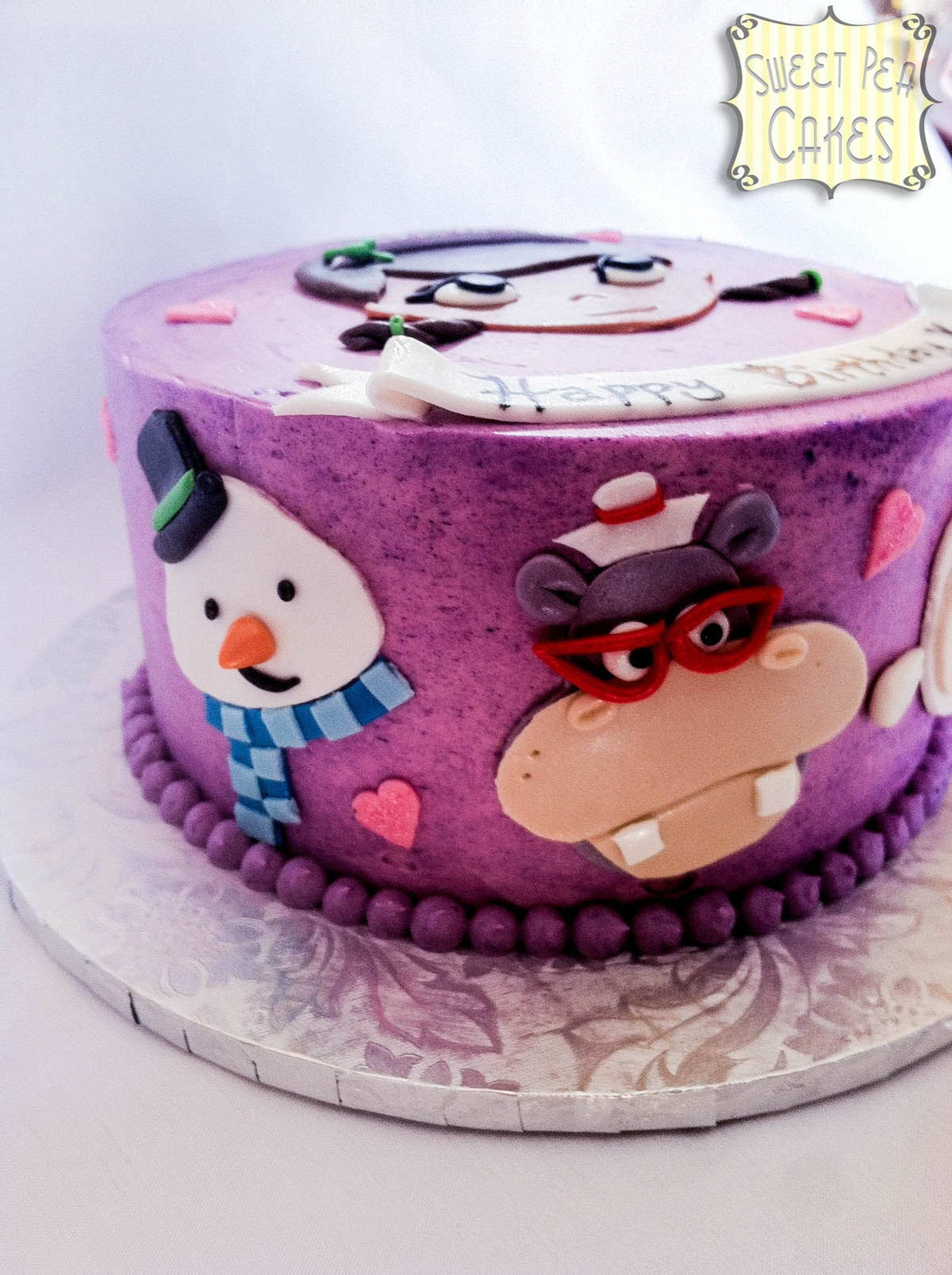 Doc Mcstuffins Birthday Cake  Doc Mcstuffins Birthday Cake CakeCentral