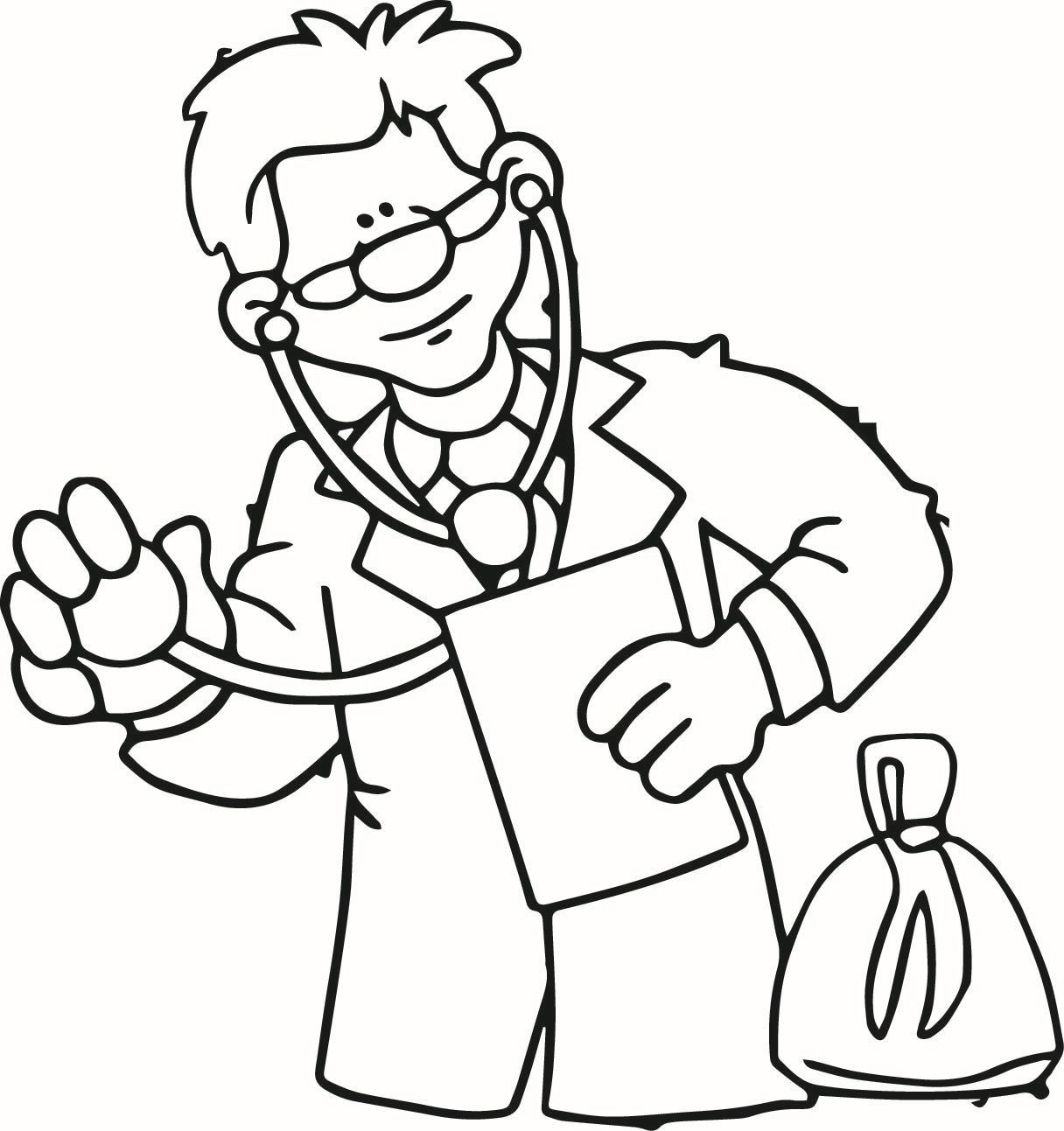 Doctor Coloring Pages  Doctor Coloring Pages For Kids Coloring Home