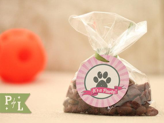 Dog Birthday Party Supplies  Puppy party favors dog party favorspink dog party supplies