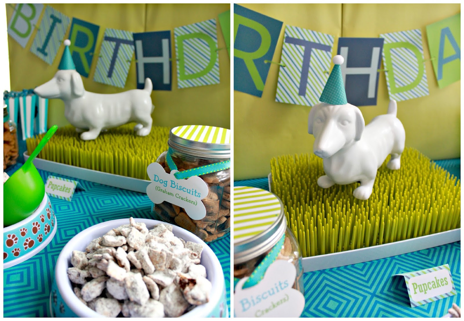 Dog Birthday Party Supplies  It s a Pawty Puppy Party First Birthday Part 1
