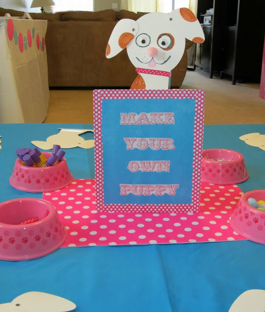 Dog Birthday Party Supplies  Puppy Themed Birthday Party Pink Girl Bash
