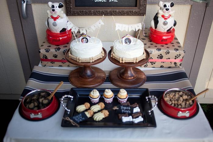 Dog Birthday Party Supplies  Kara s Party Ideas A Dog's Birthday Party via Kara's