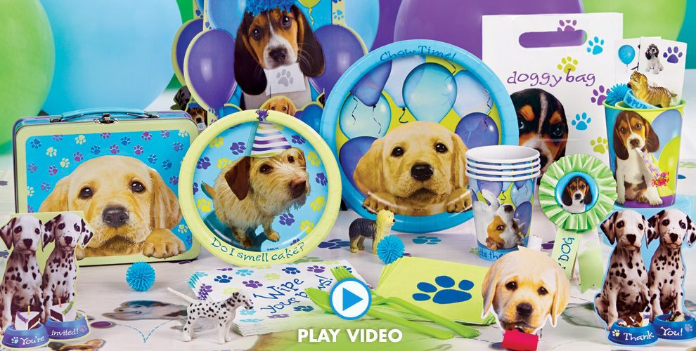 Dog Birthday Party Supplies  Party Pups Party Supplies Party Pups Birthday