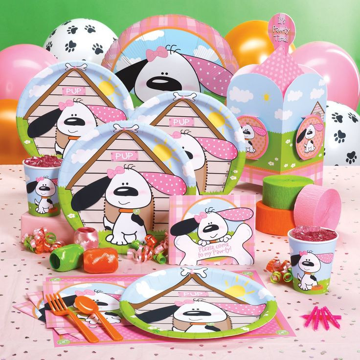 Dog Birthday Party Supplies  25 Best Ideas about Puppy Party Supplies on Pinterest