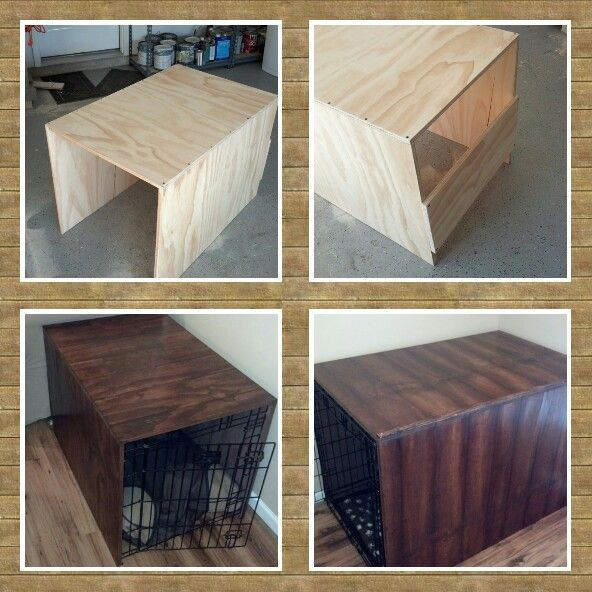 Dog Crate Cover DIY  Wood Dog Crate Diy WoodWorking Projects & Plans