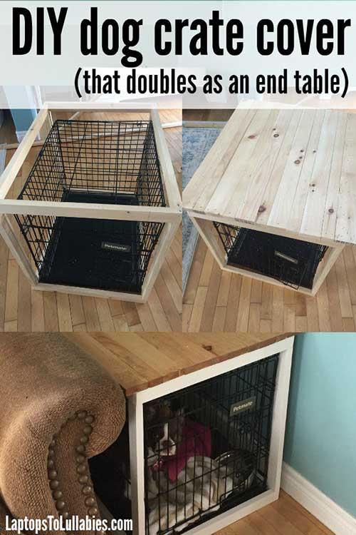 Dog Crate Cover DIY  DIY Dog Crate Cover – iSeeiDoiMake