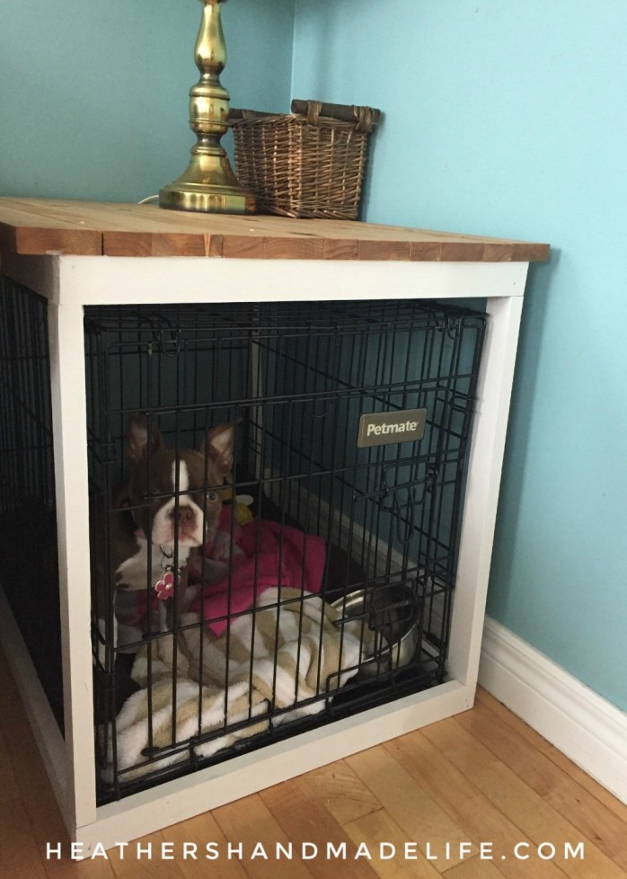 Dog Crate Cover DIY  DIY dog crate cover
