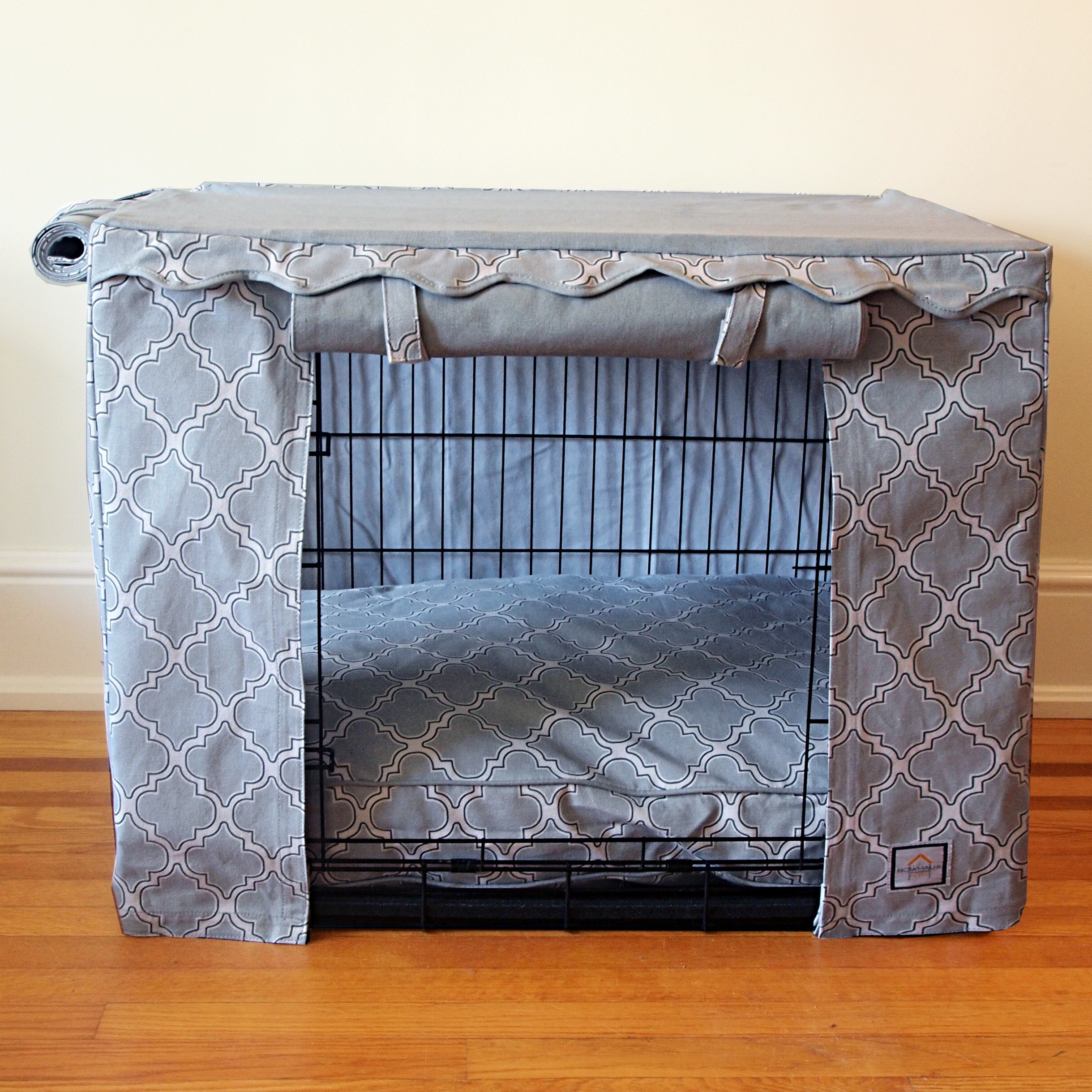 Dog Crate Cover DIY  Dog Crate Covers Canvas Very Fashionable Diy Dog Crate